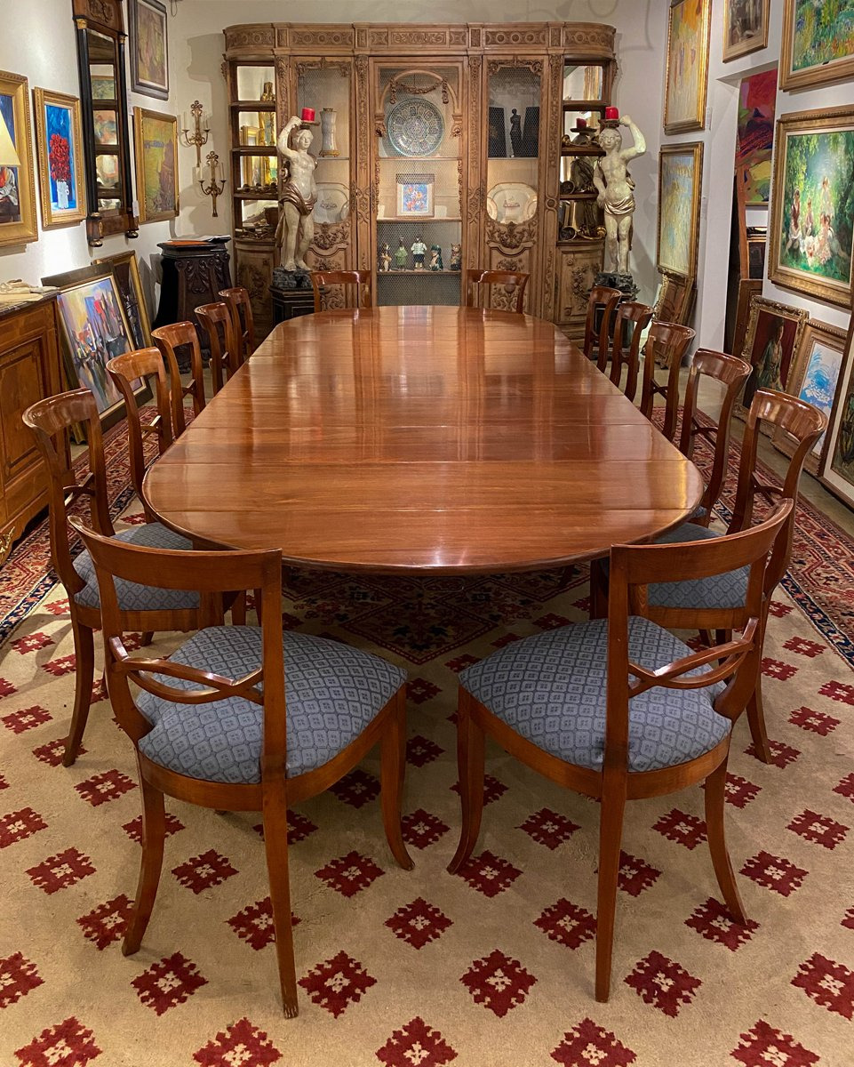 Antique Mahogany Dining Room Furniture Beautiful A Fine & Rare Louis Xvi Directoire Mahogany Dining Table by
