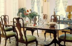 Antique Mahogany Dining Room Furniture Lovely Chandelier Over Antique Mahogany Dining Table And Chairs In