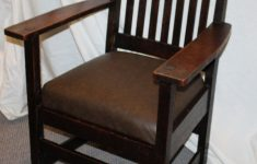 Antique Mission Oak Furniture Best Of Antique Mission Oak Armed Chair Arts And Crafts Style
