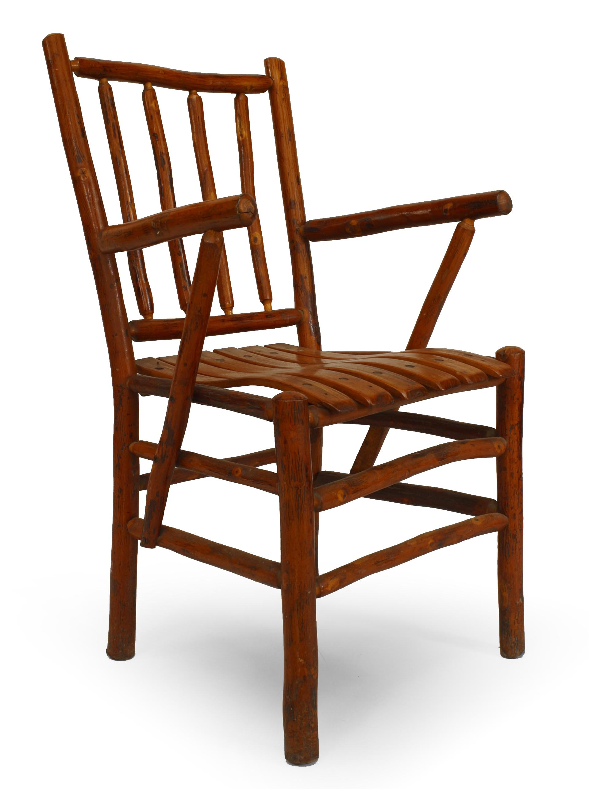seating chair set Rustic Old Hickory 05