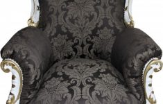 Antique Style Living Room Furniture Awesome Casa Padrino Baroque Armchair Al Capone Black Pattern White With Gold Painting Antique Style Living Room Furniture Limited Edition