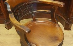 Antique Victorian Furniture Price Guide Inspirational Victorian Mahogany Smokers Bow Swivel Desk Chair La