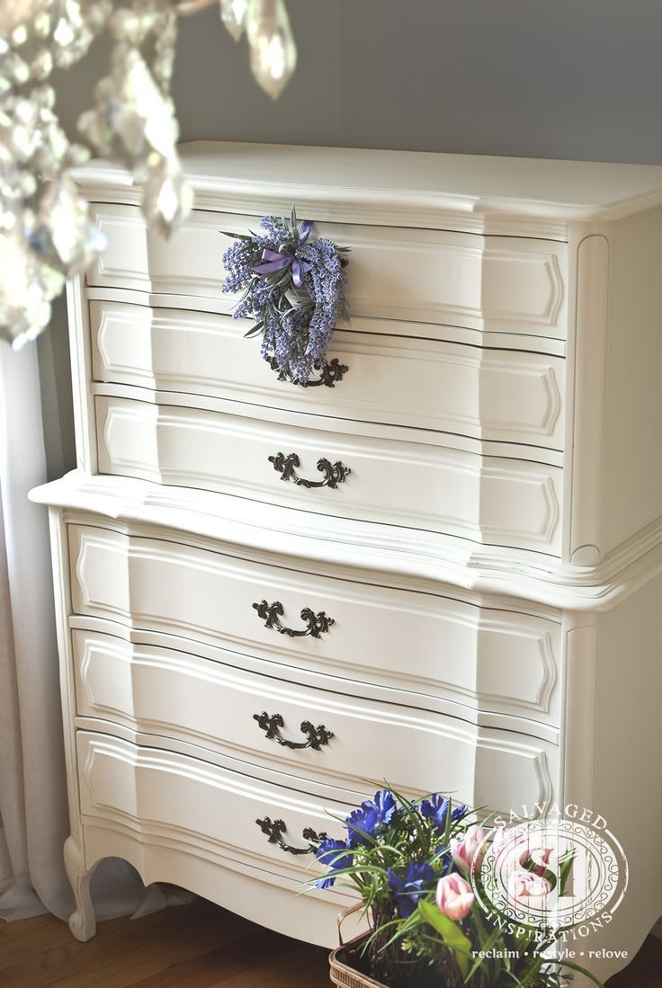 Antique White Furniture Bedroom Lovely Roadside Restyle Classic French Dresser