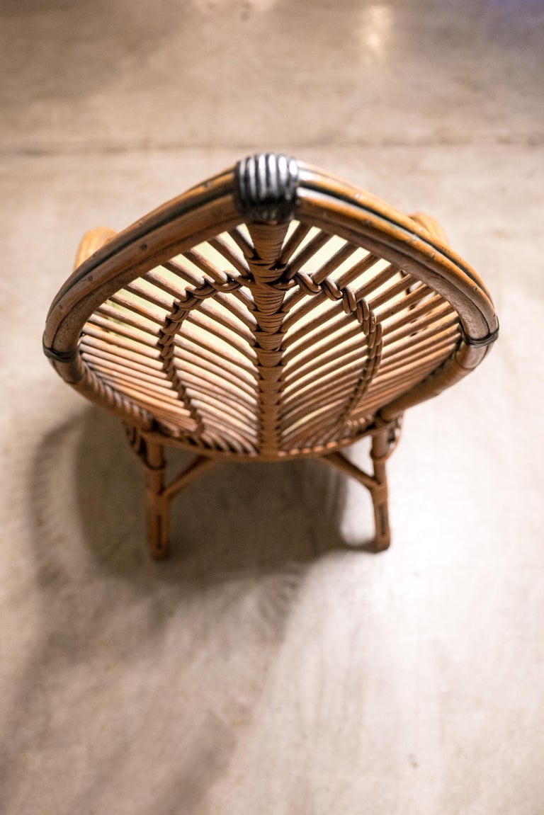 Antique Wicker Furniture for Sale Inspirational Mid Century Antique Wicker Chair
