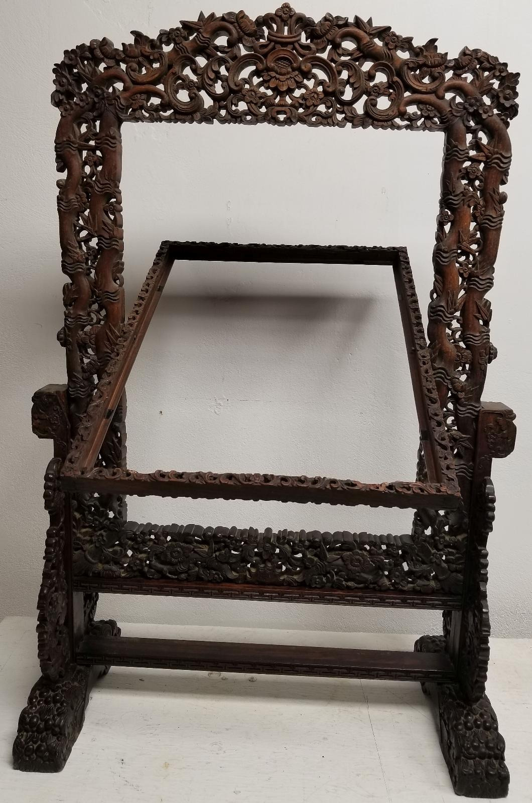 Antique Wicker Furniture for Sale On Ebay Lovely Details Zu Antique Massive Chinese Carved Wood Rosewood Hongmu Table Screen Furniture