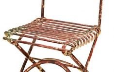 Antique Wrought Iron Furniture New Casa Padrino Wrought Iron Garden Chair Antique Red 40 X 50