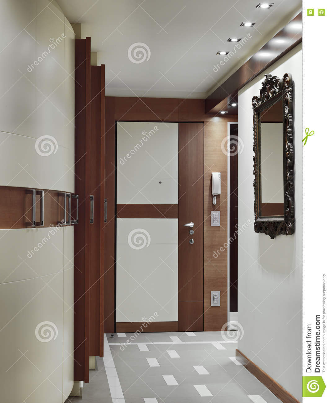 Apartment Main Door Design Awesome Modern Main Door for Entrance Apartment Stock Image