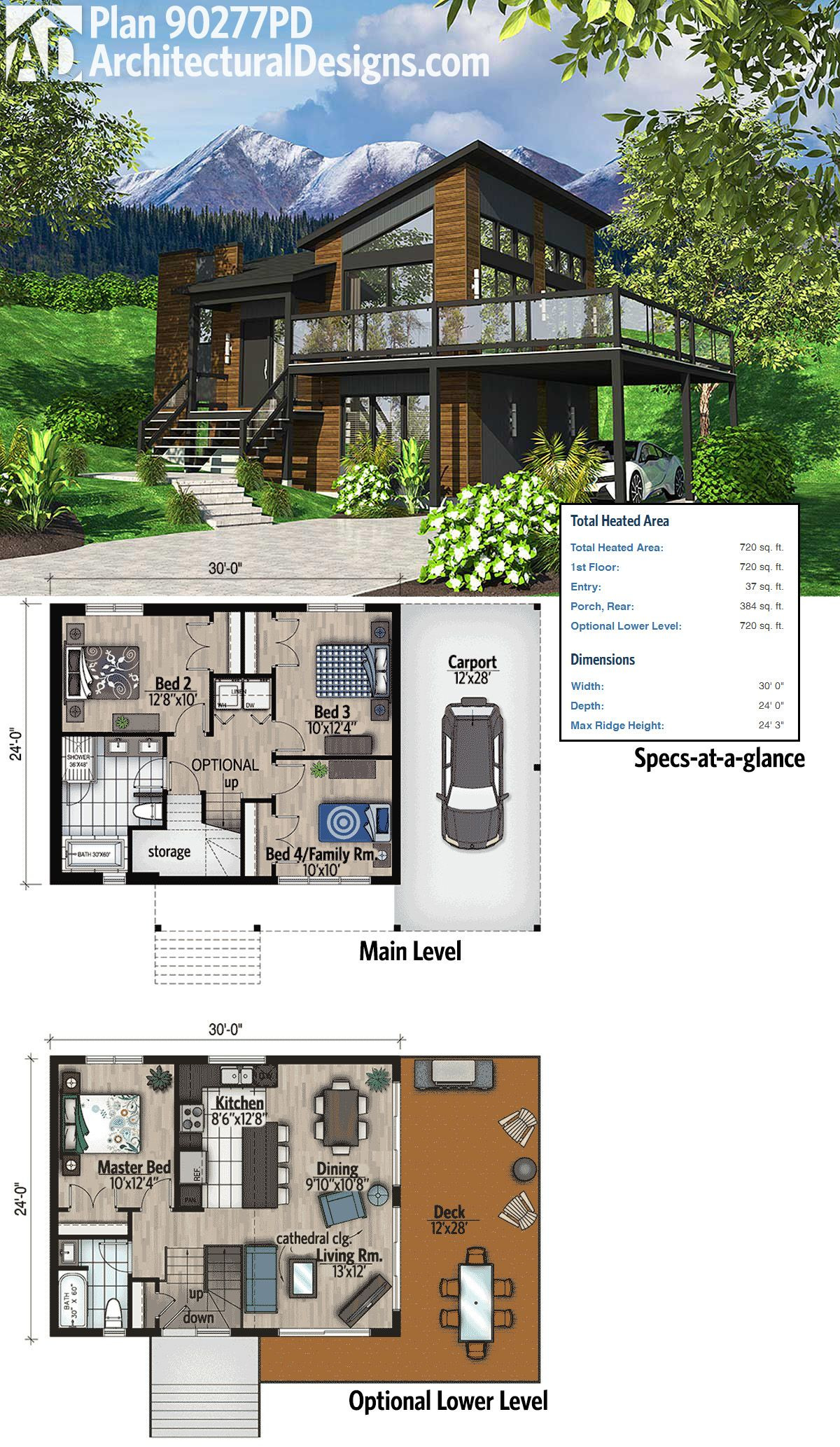 Award Winning Modern House Plans Awesome Plan Pd Exciting Contemporary House Plan In 2020