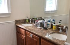 """Bathroom Cabinet Doors Fresh Our Painted Bathroom Vanity The """"before"""" & """"after"""" And How"""