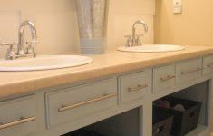 Bathroom Cabinet Doors Luxury Remove The Doors And Repaint An Old Bathroom Vanity For An