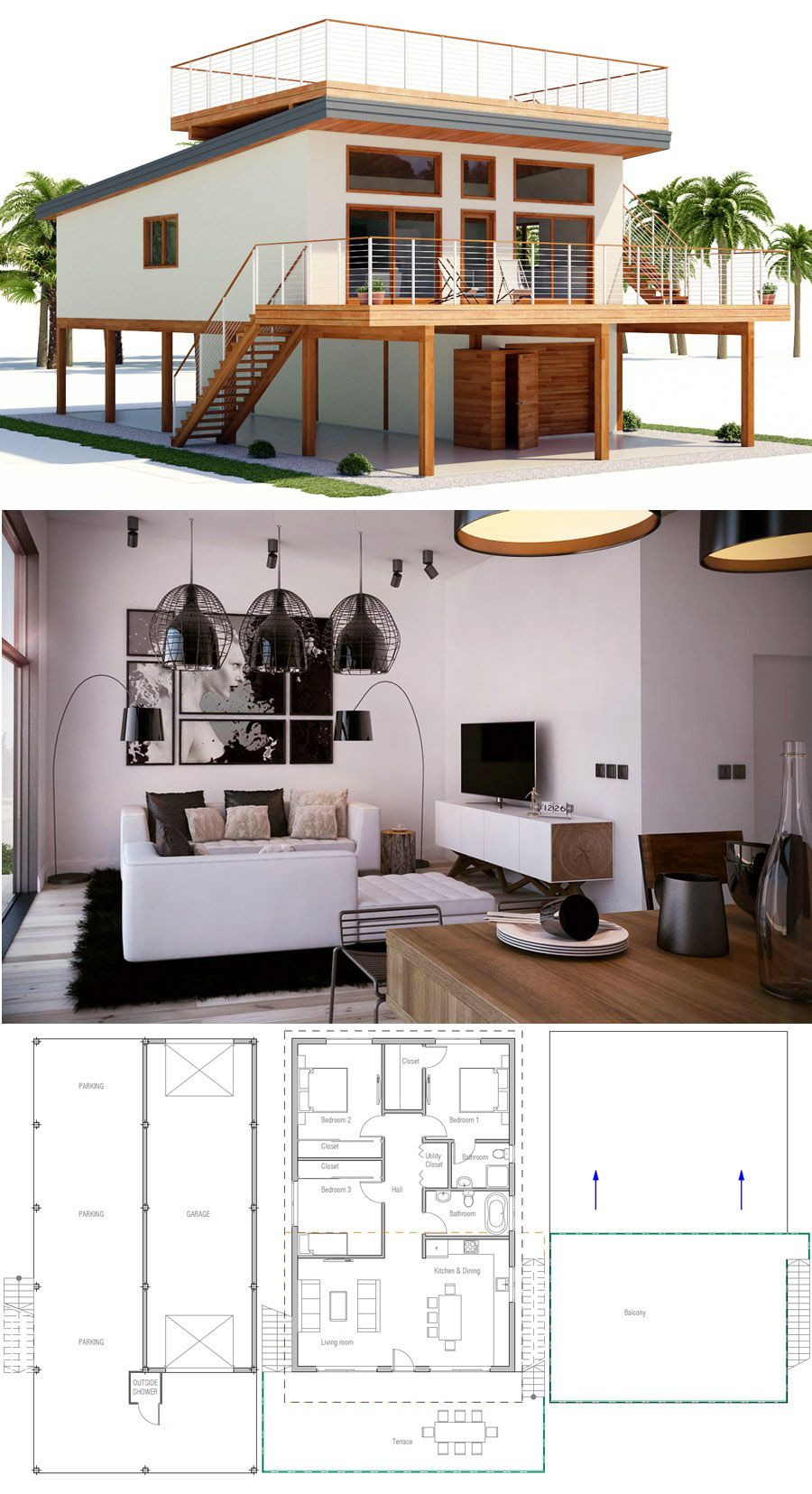 Beach House Designs and Floor Plans Beautiful Architecture Home Plans House Plans Floor Plans House