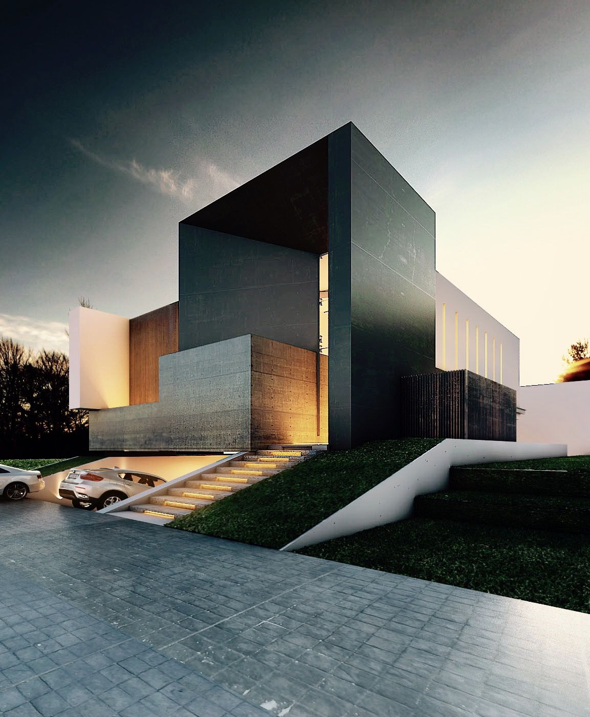 Beautiful Architecture Houses Design Unique Weekly Inspiration 16