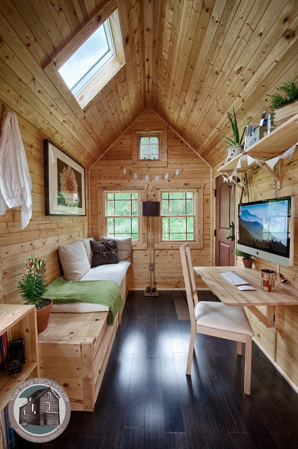 Beautiful Homes Inside and Out Elegant 16 Tiny House Interiors You Wish You Could Live In
