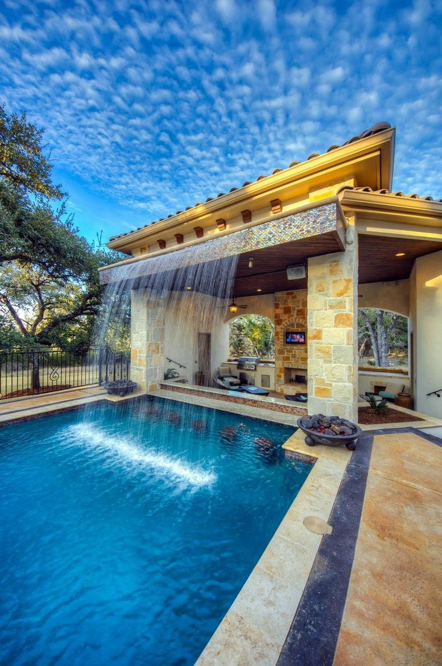Beautiful House Designs with Swimming Pool Awesome 42 Beautiful Swimming Pool Backyard Garden Landscaping