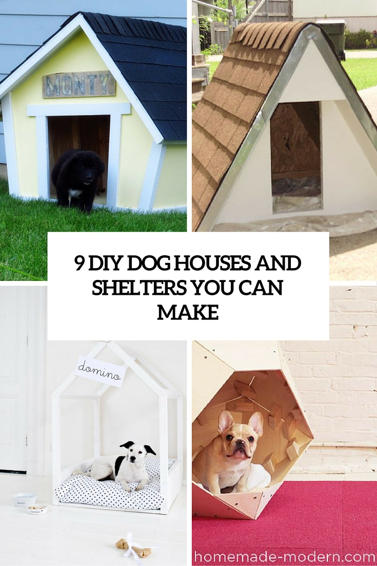 9 diy dog beds and shelters you can make cover