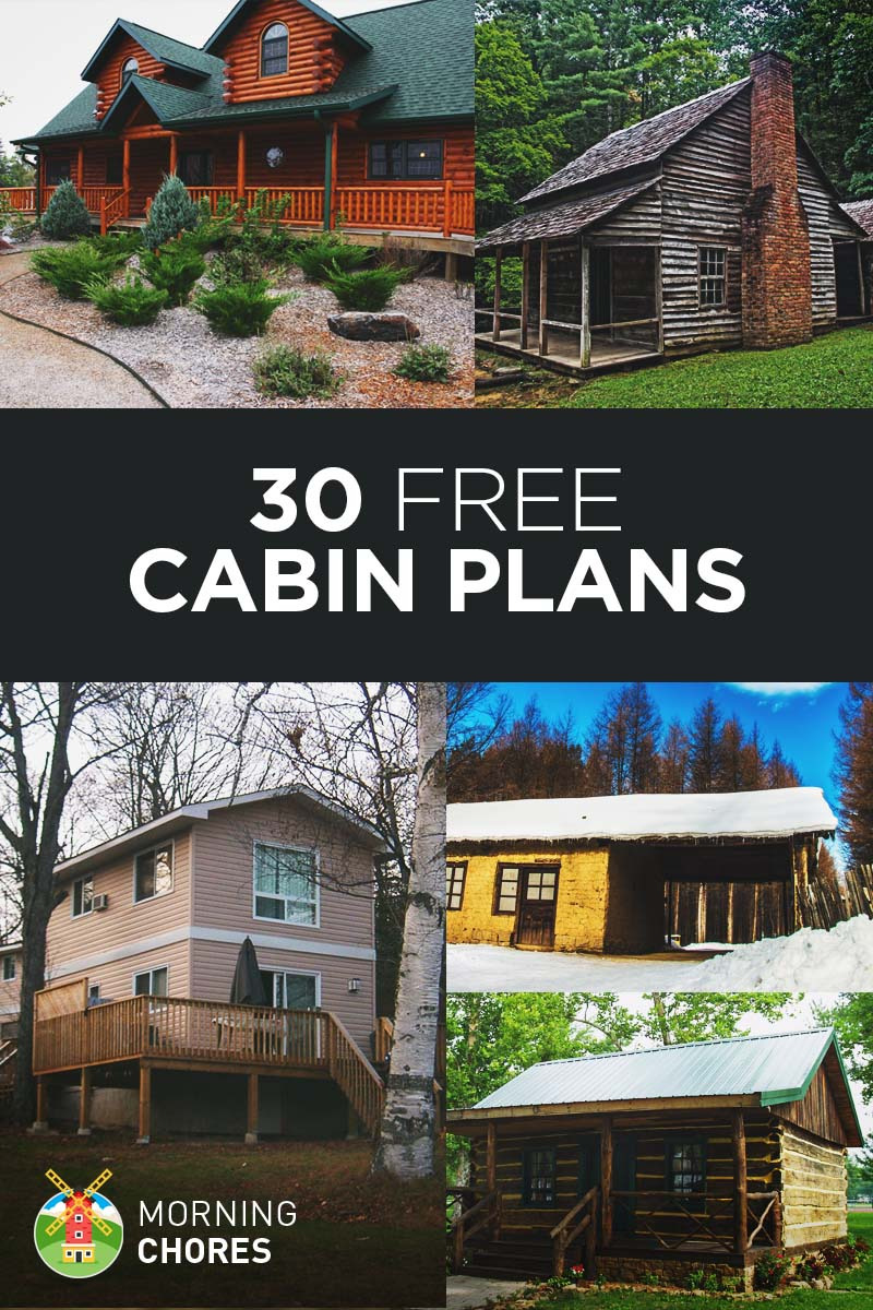 Build It Yourself House Plans Beautiful 30 Beautiful Diy Cabin Plans You Can Actually Build