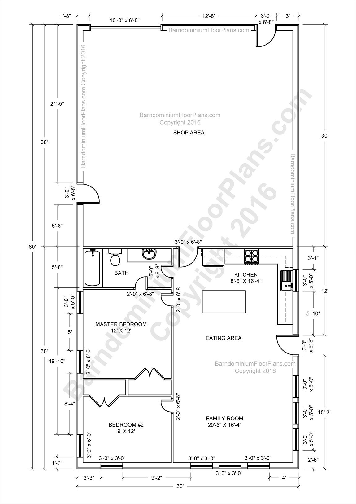 Building A House Layout Awesome Barndominium Floor Plans Pole Barn House and Metal Building