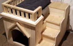 Building Plans For Dog House Lovely Diy Dog House With Stairs Imgur