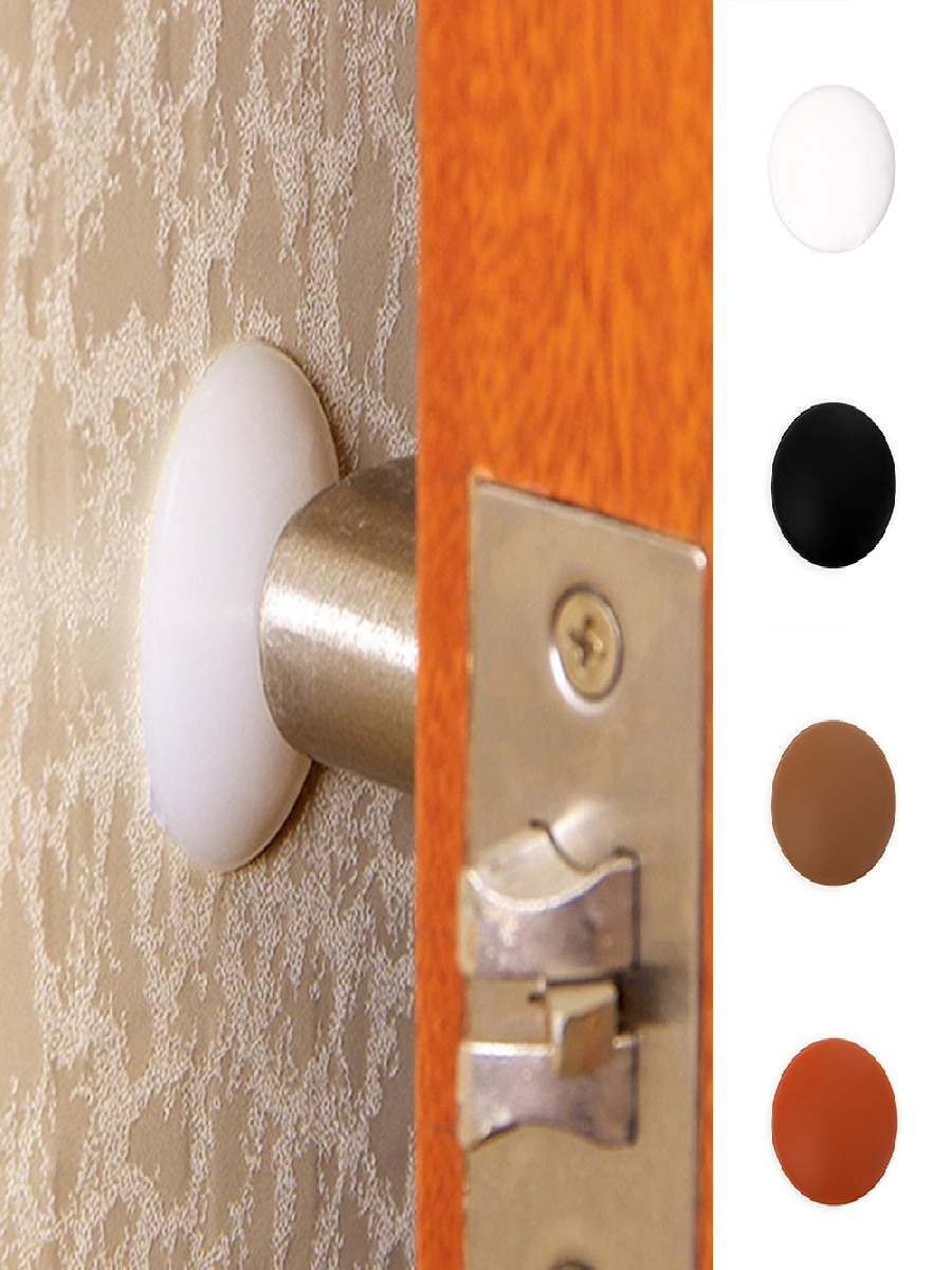 Cabinet Door Bumpers Lovely Wall Protectors Silicone Door Handle Bumpers Multi Use Table Leg Mat Anti Collision Mat
