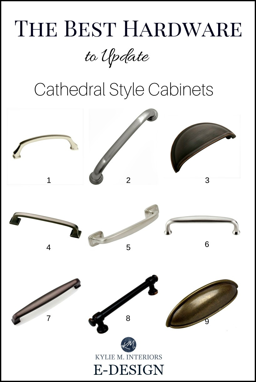 Cabinet Door Handles Best Of the Best Cabinet Hardware Pulls to Update Cathedral Style
