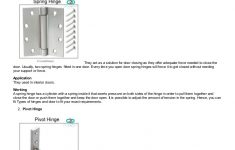 Cabinet Door Hinges Types Lovely Types Of Hinges – How To Pick The Perfect Hinges For Door Or