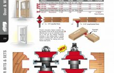 "Cabinet Door Router Bits Lovely [freud 99 267] Quarter Round Entry & Interior Door Router Bit Set 1 2"" Shank"