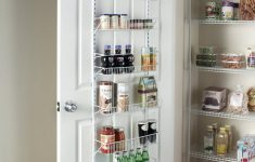 Cabinet Door Storage Fresh Over The Door Spice Rack Storage Shelf Wall Mount Organizer Holder Adjustable