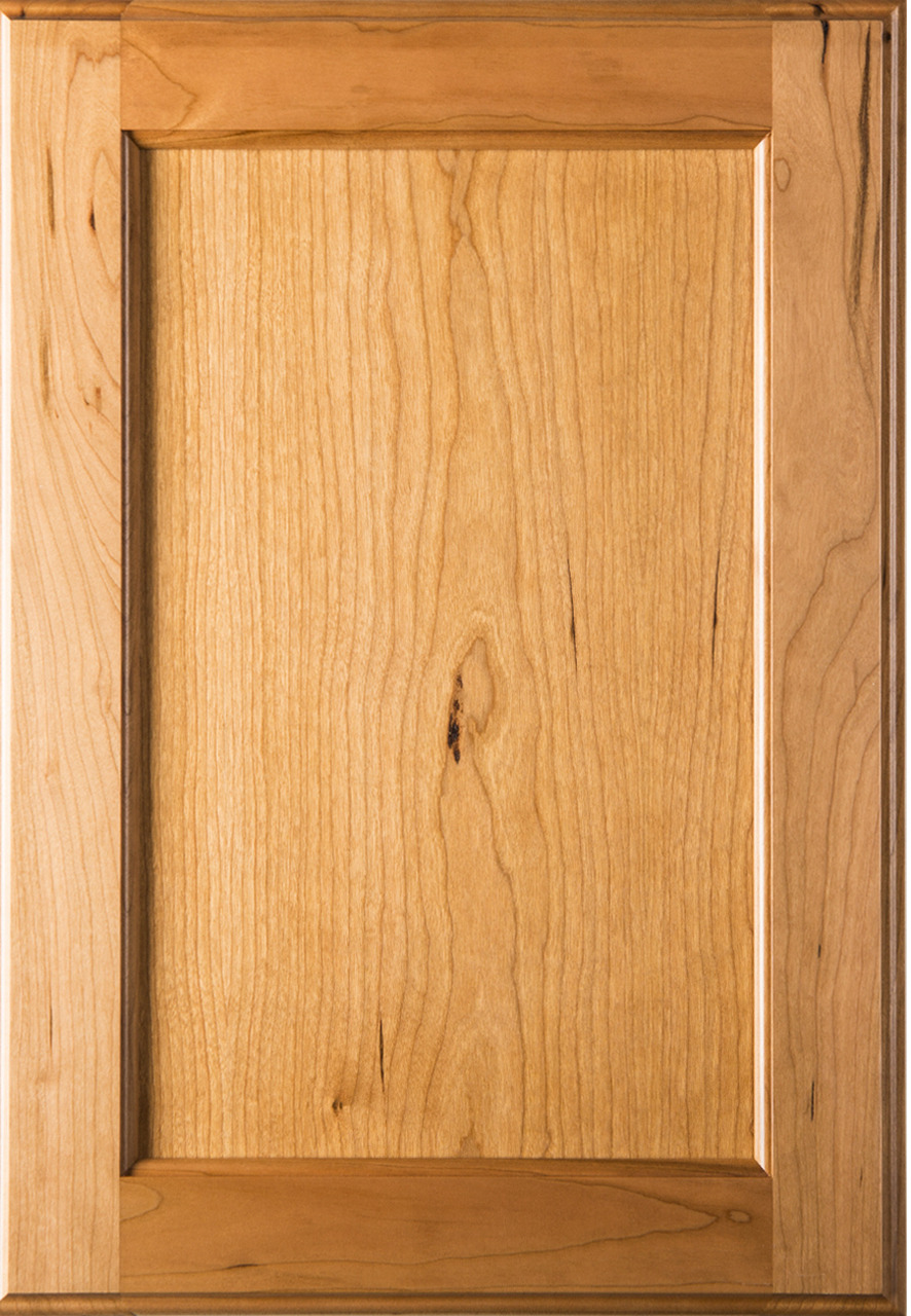 Cabinet Door Styles Awesome Square Shaker Style Cherry Cabinet Door W Flat Panel