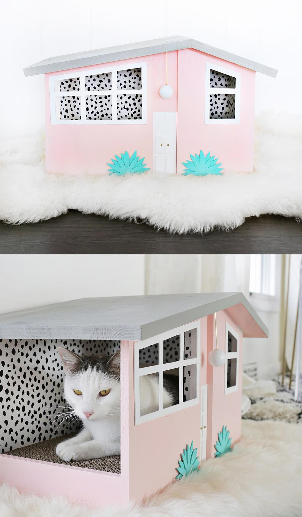 Cat House Plans Free Beautiful Cool Cat Houses for Modern Felines – Made Of Sundays