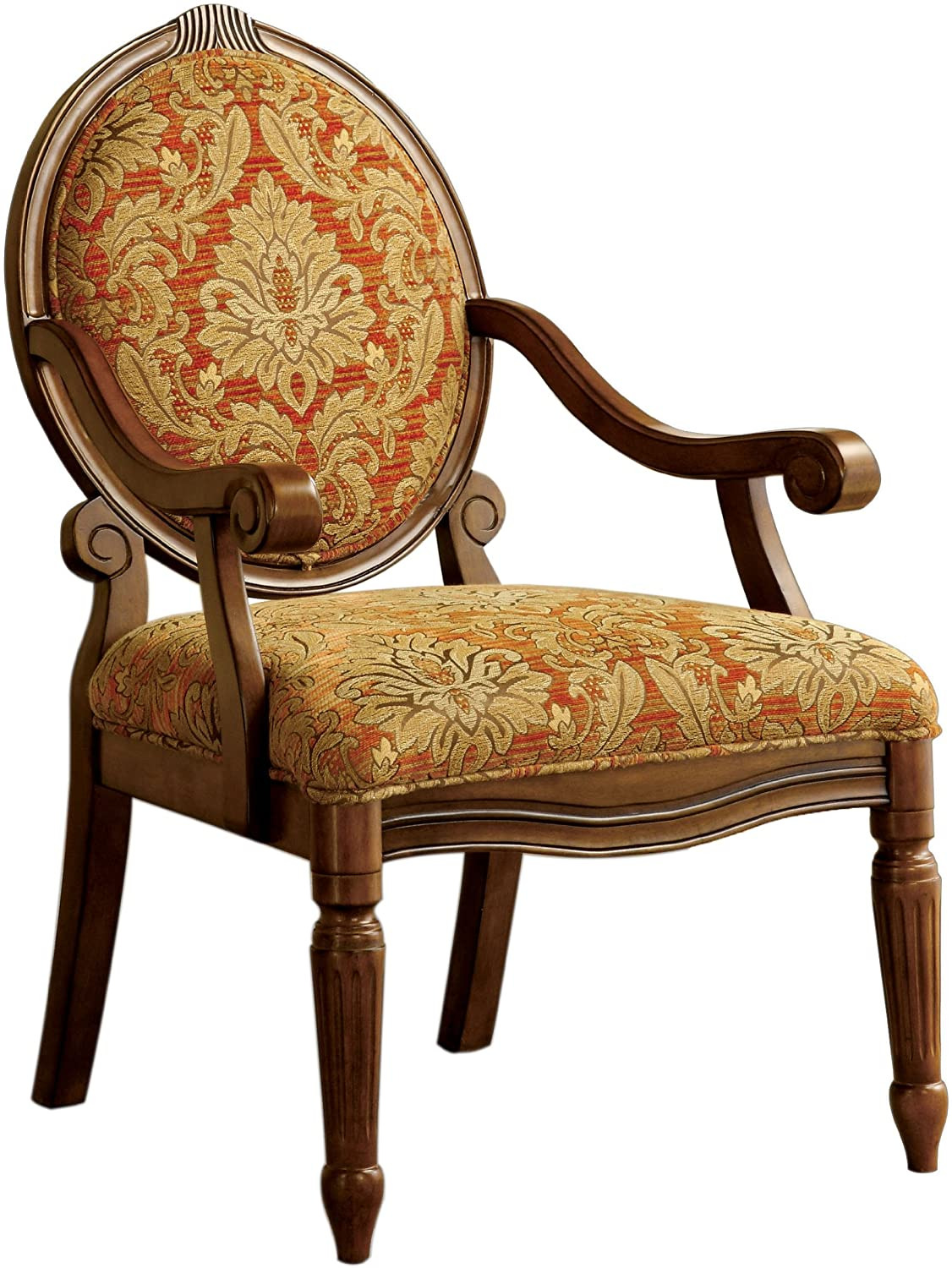 Cheap Antique Looking Furniture Best Of Furniture Of America Gwyneth Victorian Style Padded Fabric Arm Chair Antique Oak Finish