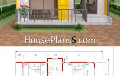 Cheap House Plans For Sale New House Plans 7 5x11 With 2 Bedrooms Full Plans In 2020