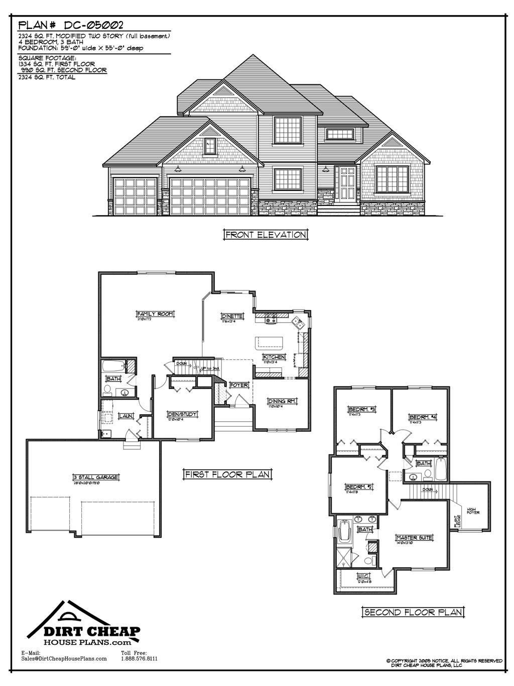 Cheap Houses to Build Plans Unique Inexpensive Two Story House Plans