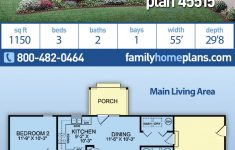Cheap Ranch House Plans Awesome Ranch Style House Plan With 3 Bed 2 Bath 1 Car