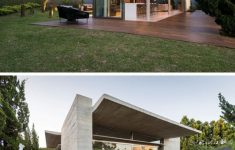 Concrete And Glass House Awesome A Concrete And Glass Annex Was Added To This Home In Brazil