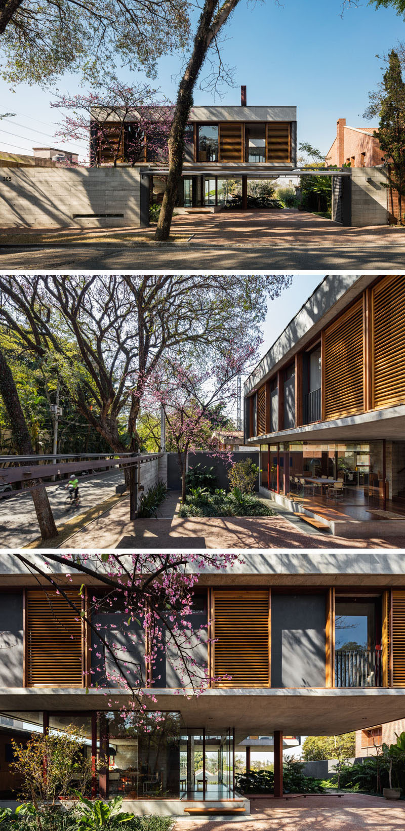 modern concrete glass wood steel house architecture 1248 02 800x1642