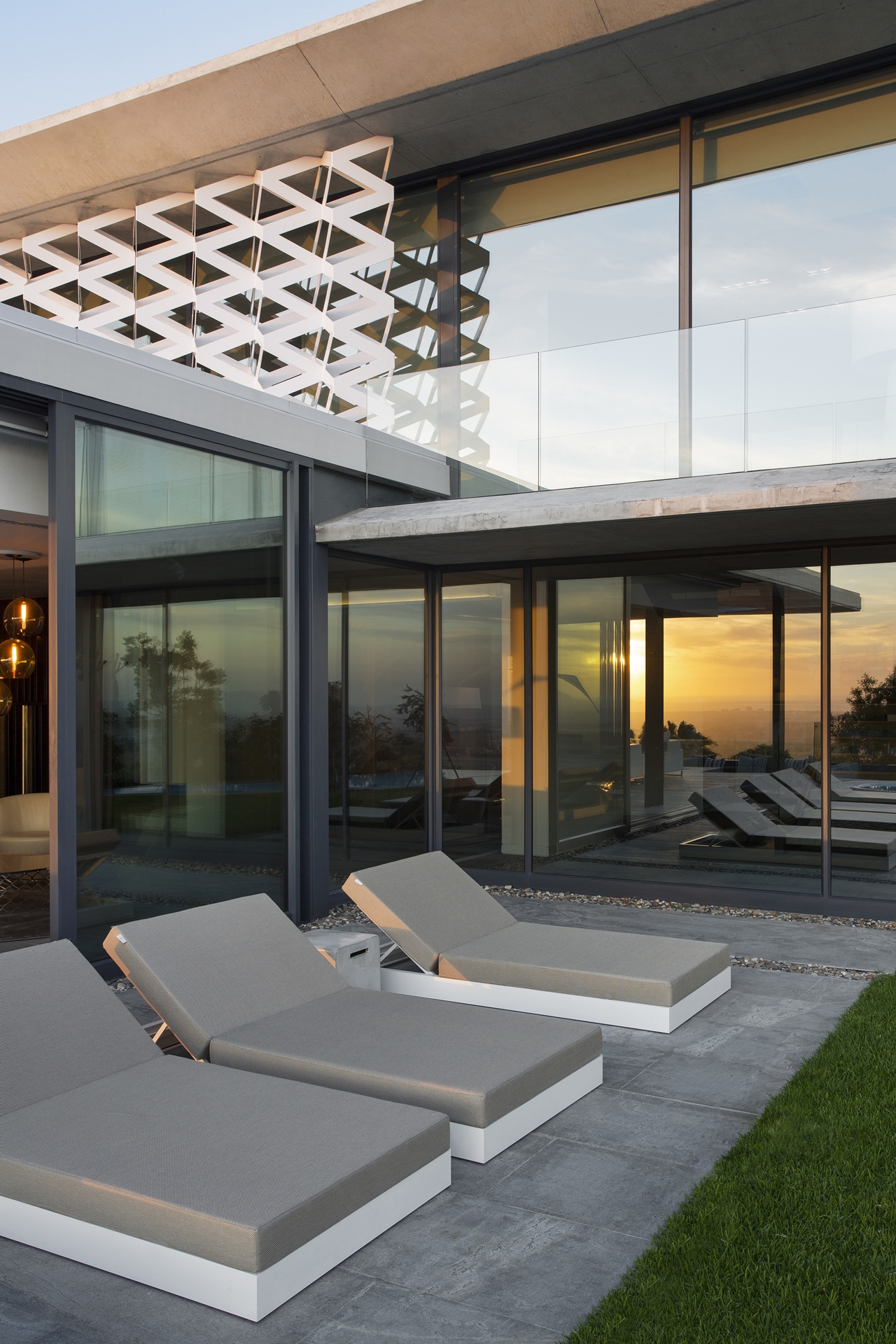 Concrete And Glass House Modern City Villa by ARRCC on Architecture Beast 16