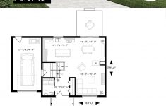 Contemporary Home Floor Plans Fresh Two Story Contemporary Home Plan With Garage Open Dining
