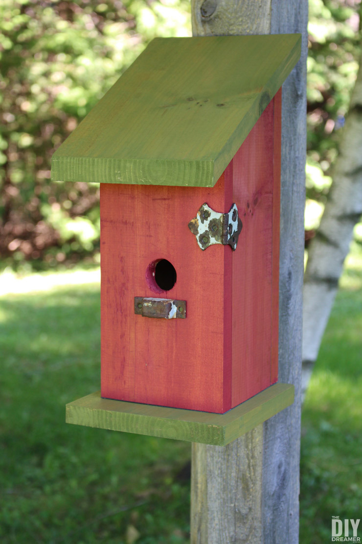 Wood birdhouse plans DIY