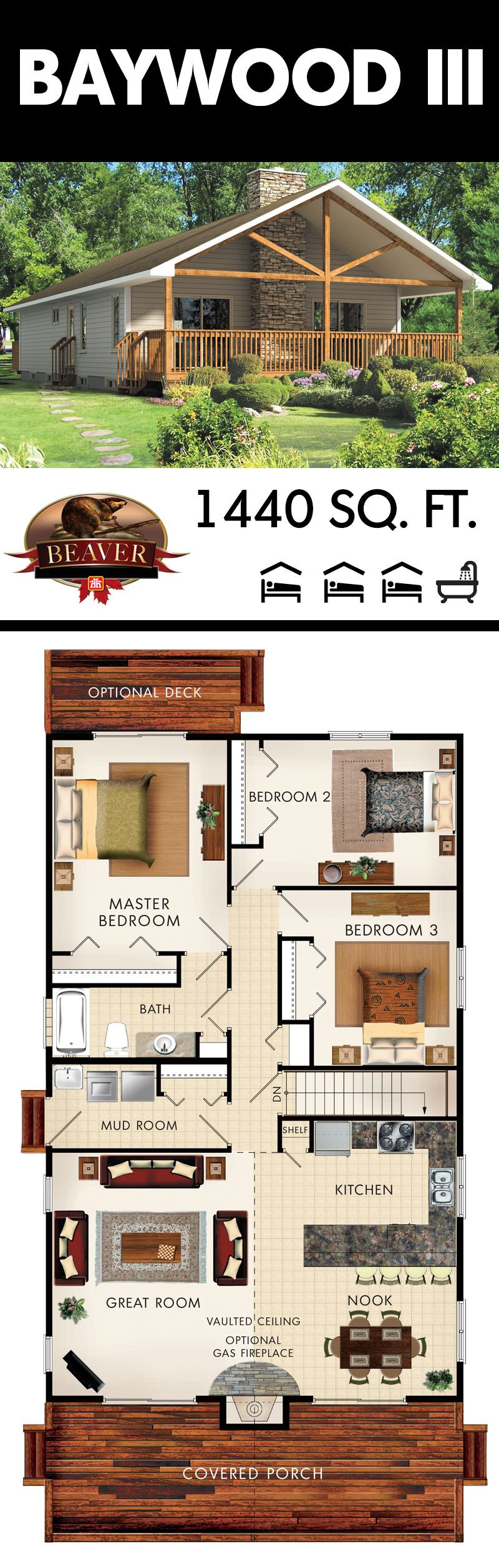Cost Effective Home Plans Fresh the Baywood Iii is Designed to Be Very Cost Effective and