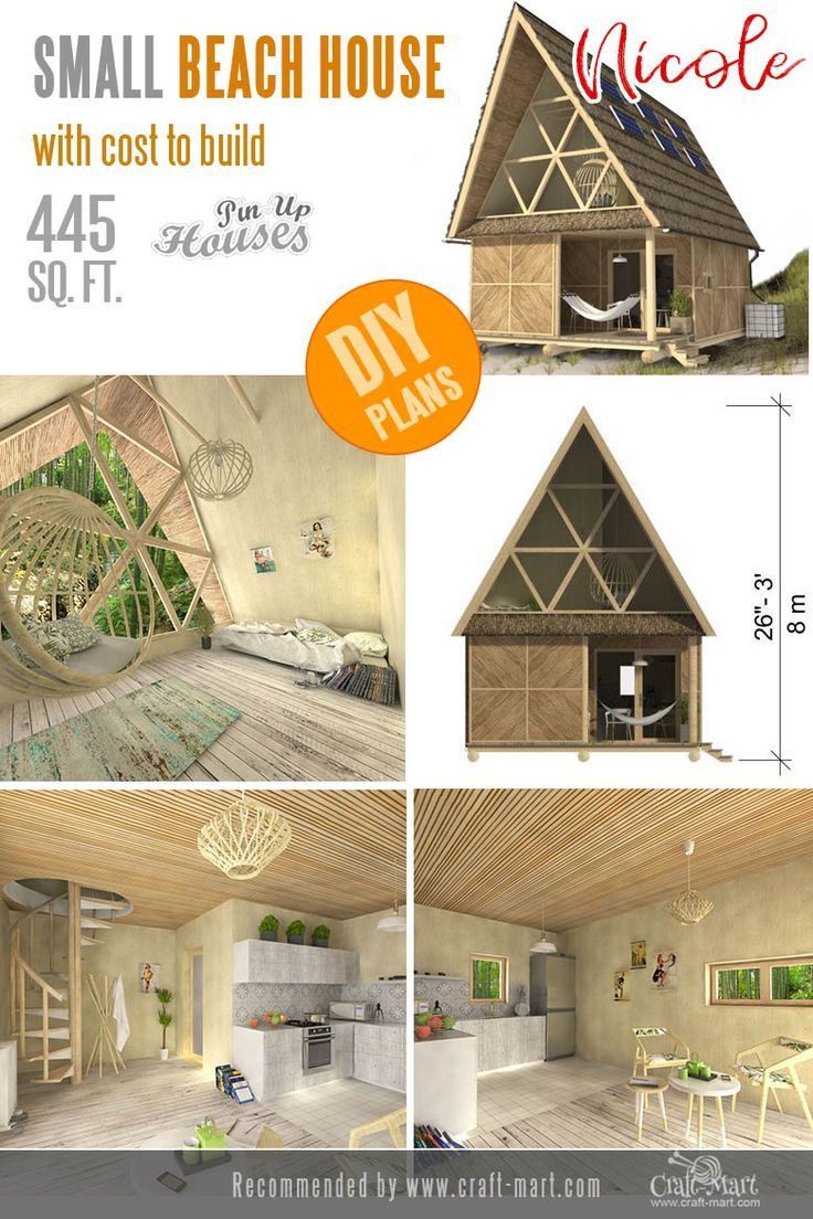 Cost to Build A Beach House Inspirational Awesome Small and Tiny Home Plans for Low Diy Bud