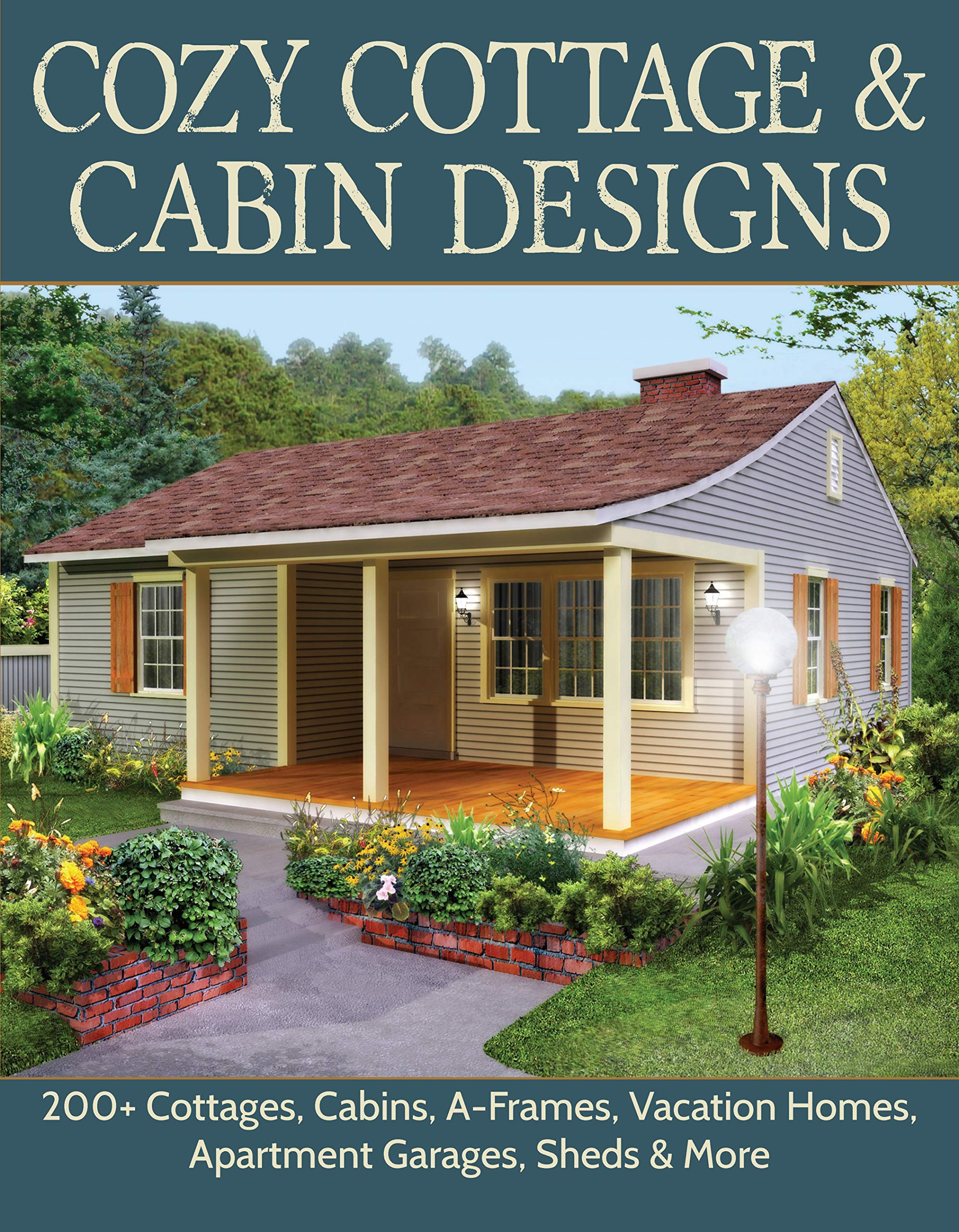 Cottage Designs and Floor Plans Lovely Cozy Cottage & Cabin Designs 200 Cottages Cabins A