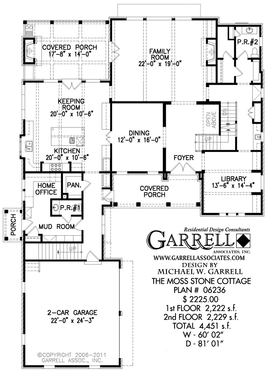 Cottage House Plans One Story Inspirational Moss Stone Cottage House Plan