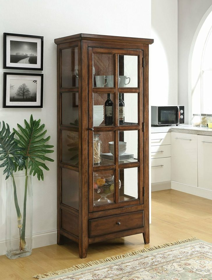 Curio Cabinets with Glass Doors 2021