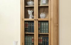 Display Cabinet With Glass Doors Beautiful Shrewsbury Solid Oak Display Cabinet Glass Doors Amazon