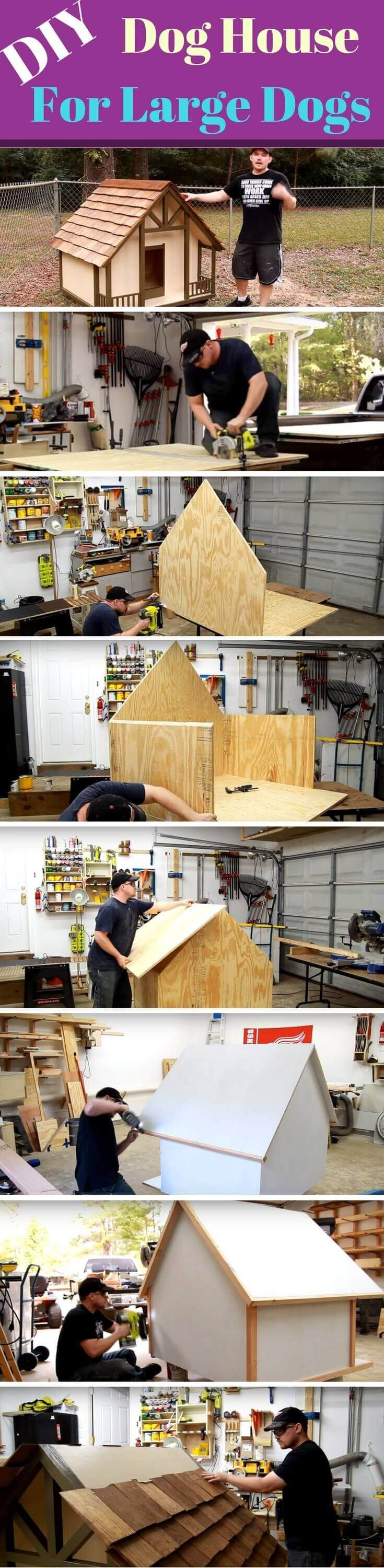 Dog Houses Plans for Large Dogs Lovely 21 Awesome Diy Dog Houses with Free Step by Step Plans
