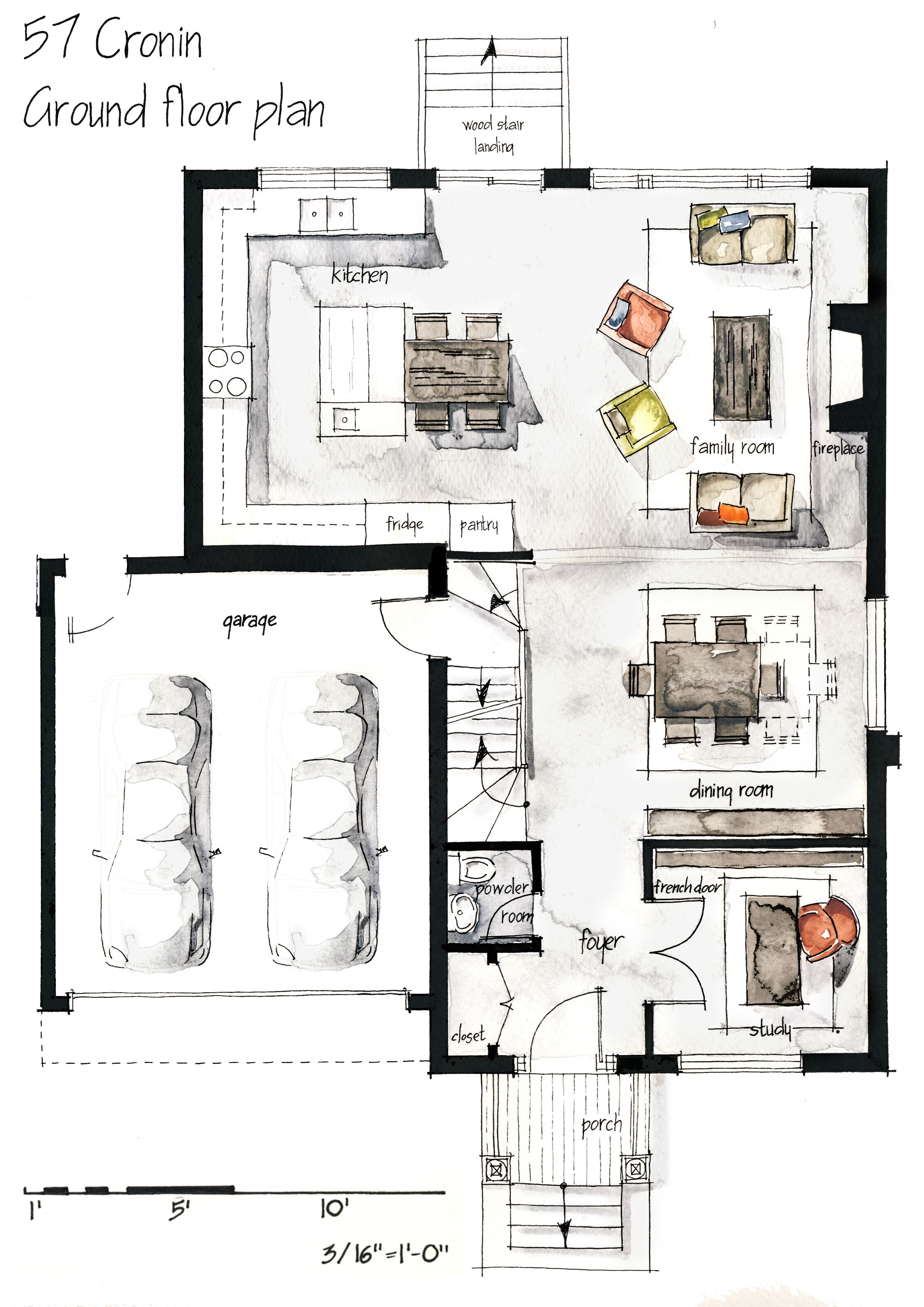 Draw Up House Plans New Hand Drawing Plans