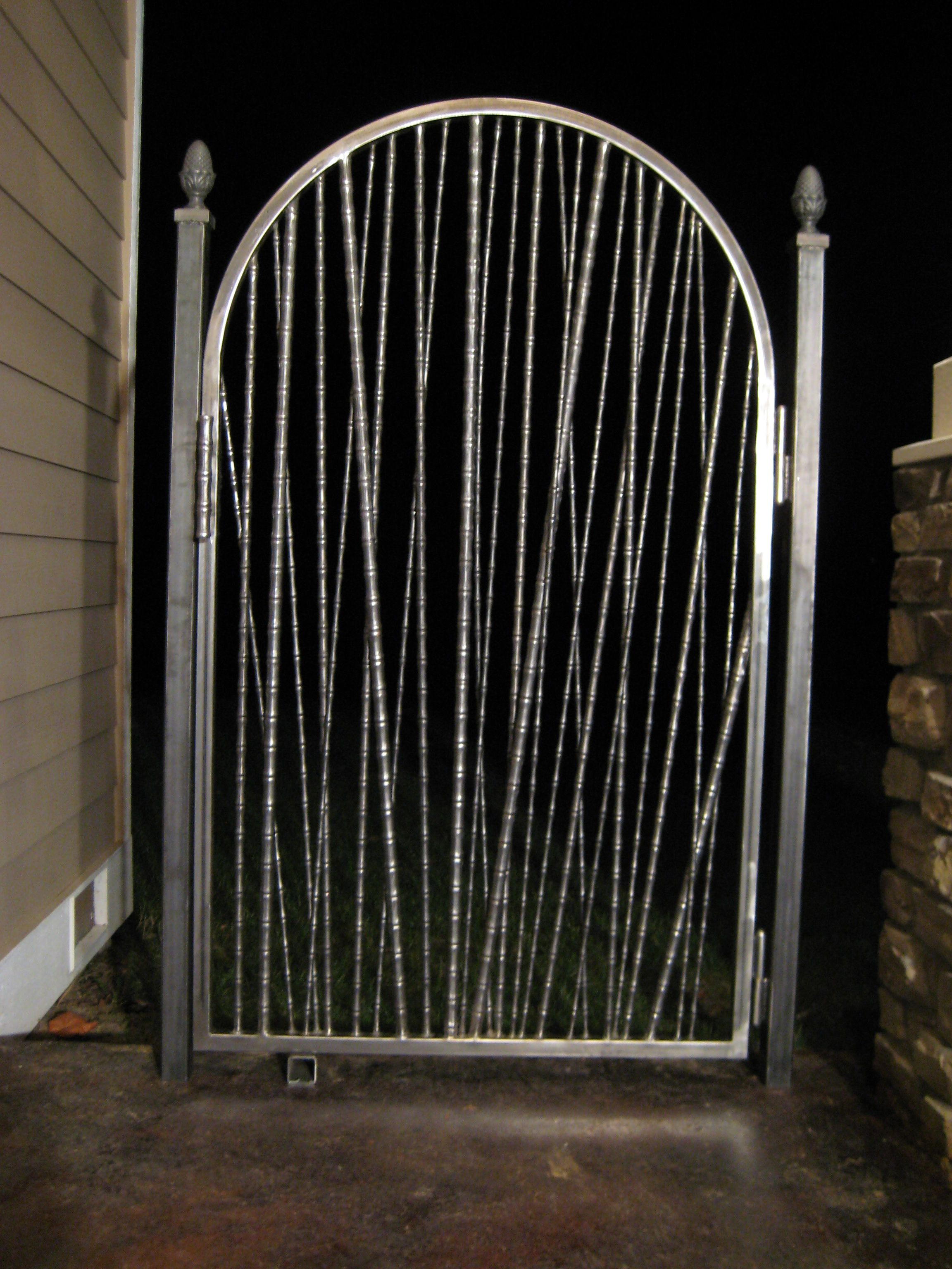 Entrance Gates Designs Show Pictures Lovely Bamboo Gate A Really Popular Design This Wrought Iron Gate