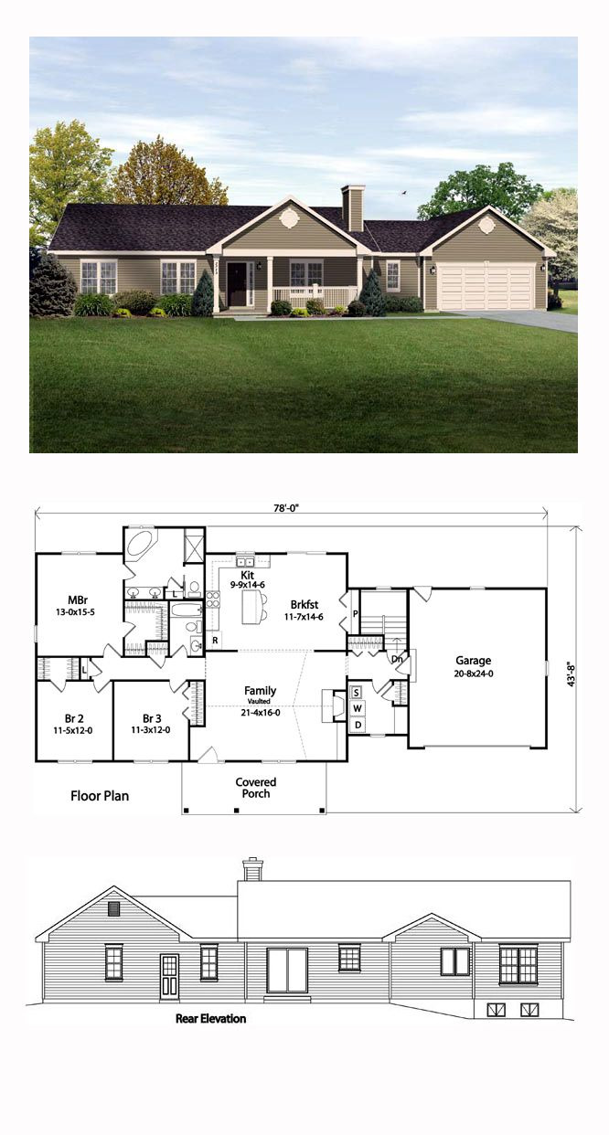 Floor Plans for Ranch Style Houses 2020
