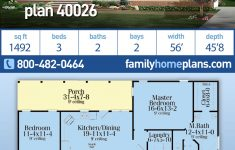 Floor Plans For Ranch Style Houses Lovely Ranch Style House Plan With 3 Bed 2 Bath 2 Car Garage