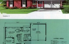 Floor Plans For Ranch Style Houses Luxury See 125 Vintage 60s Home Plans Used To Design & Build
